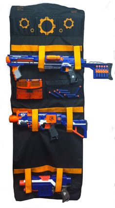 Nerf NERF ELITE TRANSPORT AND DOOR STORAGE - Toys & Games - Outdoor Play - Blasters & Foam Toys