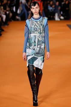 Opening Ceremony Fall 2016 Ready-to-Wear Collection Photos - Vogue Fall Fashion 2016, Runway Fashion, Fashion Art, Winter Fashion, Fashion Show, Fashion Design, Fashion Trends, City Fashion, Textiles