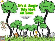 Smedley's Smorgasboard of Kindergarten: FREEBIES! QR code tally marks