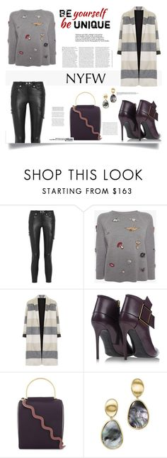 """""""Pack for NYFW"""" by nahed-samir ❤ liked on Polyvore featuring Frame, Alexander McQueen, Topshop, Gianmarco Lorenzi, Roksanda and Marco Bicego"""