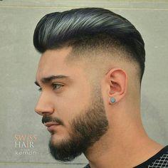 Haircut by swisshairbyzainal http://ift.tt/24ZY0Mc #menshair #menshairstyles…