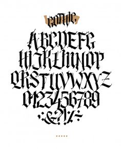 Gothic Tattoo Fonts Sparkling Medieval Tattoo Fonts - Gothic Tattoo Fonts Sparkling Medieval Tattoo Fonts Best Picture For tattoo arm For Your Taste Yo - Chicano Tattoos Lettering, Tattoo Lettering Alphabet, Tattoo Lettering Styles, Graffiti Lettering Fonts, Typography Letters, Lettering Design, Letter Fonts, Lettering Tattoo, Tattoo Script
