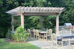Image result for garden dining pergola