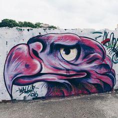 #streetart #art #ghent #gent #visitgent #belgium #igbelgium #vsco #vscocam #colours #bird #wall #doknoord