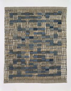 blueberrymodern:    Tikal, 1958, Anni Albers, Cotton