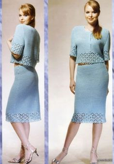 Crochet dress.       ♪ ♪ ... #inspiration_crochet #diy GB