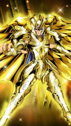 Gemini Saga(God Cloth - Saint Seiya - Zodiac Brave by FernanDohko
