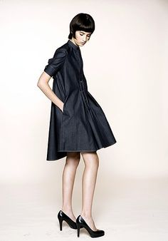 The Denim Dress by Bruno Grizzo