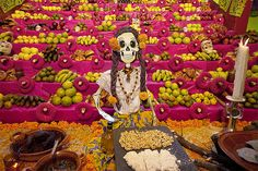 Dia de muertos en Mixquic by Pier.Bover, via Flickr