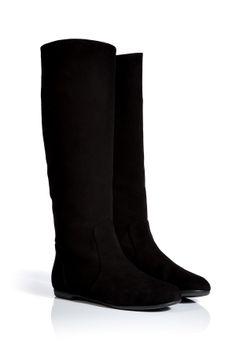 Black Suede Boots / Giuseppe Zanotti.
