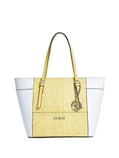 GUESS Delaney Lizard-Embossed Small Classic Tote Bag