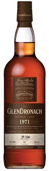 Single cask Glendronach Single Malt Whisky available from Whisky Please.