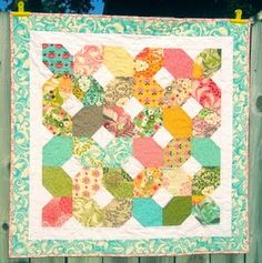 The pattern is from Camille's book, Simplify.  Super easy and super fast!