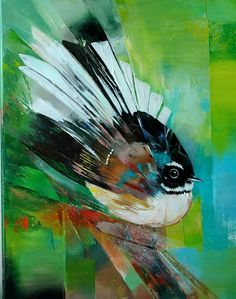 Lee Caroline - A World of Inspiration: New Zealand Artist, Sheila Brown - Inspired By Nature Small Canvas Paintings, Great Paintings, Bird Paintings, New Zealand Art, Nz Art, Brown Bird, Maori Art, Art Society, Popular Art