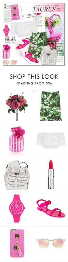 """""""Style Horoscope"""" by vkmd ❤ liked on Polyvore featuring agnès b., Victoria's Secret, Miguelina, rag & bone, Givenchy, Versus, Rebecca Minkoff, Iphoria, Ray-Ban and Lipsy"""