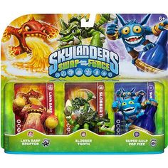 Skylanders Swap Force Triple Pack