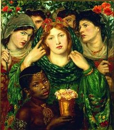The Beloved  Alternately titled: The Bride  Alternately titled: The King's Daughter  Dante Gabriel Rossetti  1865-1866; 1873  Physical Description  Medium: oil on panel  Dimensions: 32 1/2 x 30 in.