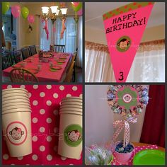 very cute on a budget monkey party