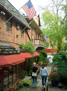 German Village in Columbus, OH. Ohio& biggest city boasts plenty of top-tier attractions, but lesser-known neighborhoods truly reveal the town& charm. City Of Columbus, Columbus Ohio, Columbus Travel, Vacation Trips, Vacation Spots, Vacations, Ohio Attractions, German Village, The Buckeye State