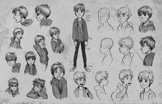 Animation Character Design Portfolio : Character design portfolio title page by quackamos on deviantart