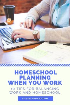 It is possible to homeschool and work at the same time. 10 great tips for balancing homeschool and working full time!