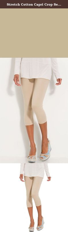 Stretch Cotton Capri Crop Seamed Leggings Tights (Large, Oatmeal). Leggings is a fashion that always looks sexy. They give a very elegant as well as a hot look. So if you are planning to look really trendy and chic this season then get yourself some good pair of leggings. Good quality and durable Brand New Soft touch, comfortable, well adapts to the body Long ankle length Not show through Reinforced bottoms & seams Made of quality fabric, which keeps its original form and fit, even after...