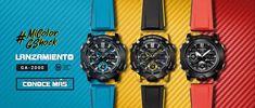 Un reloj para resistir Disfruta tu G-SHOCK Termómetro rango de medición y visualización: -10 a 60ºC COMPRAR Disfrutá el Mundo La función de hora mundial te brinda la hora de todos los países. Dos (2) timersParausar durante el entrenamiento de entre 2velocidades distintas. COMPRAR Disfruta el Agua WATER RESISTANT 100 metros significa que puedes usar … G Shock, Cool Watches, Awesome, World, 100m, Casio Watch, Clocks, Training, Water