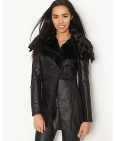 Lipsy Kardashian Kollection Bonded Fur Coat - BANK Fashion, bringing you all the latest fashion for women and men from your favourite designer brands.