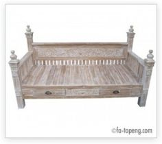 Wholesale Bali Furniture » Sofa Day Bed with carving