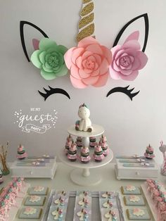Unicorns Birthday Party Ideas | Photo 1 of 25 | Catch My Party