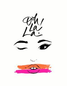 DOWNLOADABLE | OOH LA LA! | Cocorrina http://bit.ly/1M5gax4?utm_content=buffer9532a&utm_medium=social&utm_source=pinterest.com&utm_campaign=buffer