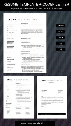 Cover Letter Format, Cover Letter For Resume, Cover Letter Template, Curriculum Vitae Template, Modern Resume Template, Professional Resume, Templates, Lettering, Words