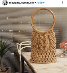 Macrame Bag, Macrame Knots, Micro Macrame, Macrame Jewelry, Macrame Dress, Crochet Tote, Crochet Purses, Crochet Girls Dress Pattern, Boho Bags