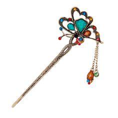 Elegant Korean Tassel Hair Sticks Classical Female Hairpins Hair Accessories