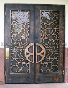 Our Delano double door