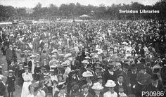 U.K. Childrens Fete, GWR Park, Swindon, 1906  | Flickr by  Local Studies, Swindon Central Library