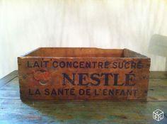 Caisse en bois ancienne Décoration Val-de-Marne - leboncoin.fr