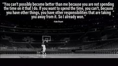 On being the best.