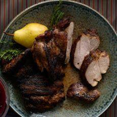 Garlic-Chile Grilled Turkey Thighs