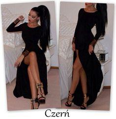 sukienki z baskinką długie - Szukaj w Google