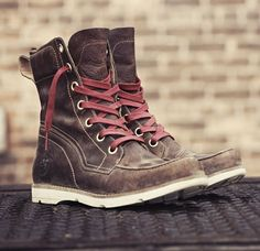 """Women's Earthkeepers® Mosley 6"""" Waterproof Boot - they will make a bold #eco-friendly statement rocking these!! Urban, road warrior princess!!!! And they're $160"""