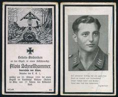 orig. WK2 STERBEBILD - DEATH CARD - FALLSCHIRMJÄGER - NETTUNO / ITALIEN 1944