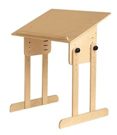 Small Extended Easel - great desk for adapted seats, standers and walkers!