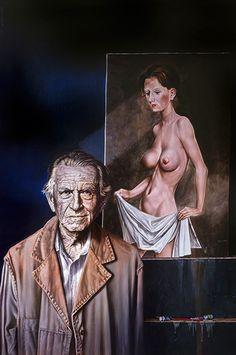 """Roland Heyder - """"Otto Dix  II"""", 1993"""