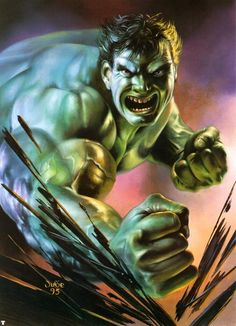 The Hulk by Julie Bell