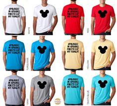 Adult Disney Family Shirts Disney ShirtsDisney Land Disney