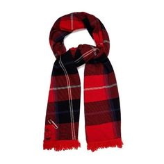 Queene and Belle Mackenzie plaid cashmere wrap (6,375 CNY) ❤ liked on Polyvore featuring accessories, scarves, red multi, beaded scarves, cashmere shawl, plaid shawl, wrap shawl and fringe shawl
