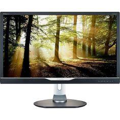 """Monitor LED 28"""" Widescreen Philips Ultra HD 4K 288P6LJEB/57 com Auto Falantes Integrados << R$ 109999 em 6 vezes >>"""