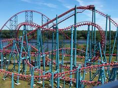 Mind Eraser at Six Flags New England. I refuse to not ride in the front when it comes to this one. Awesome coaster.