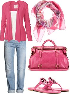 """""""pink"""" by nataliegrl on Polyvore"""